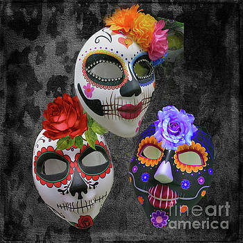 Halloween Masks by Barbara Dudzinska