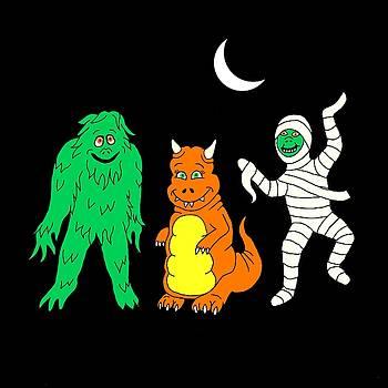 Linda Mears - Halloween Monsters