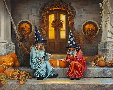 Halloween Sweetness by Greg Olsen