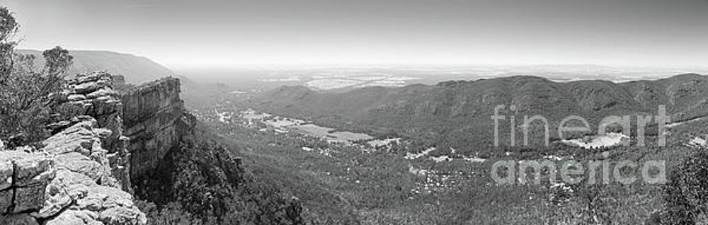 Tim Hester - Halls Gap Grampians Black And White