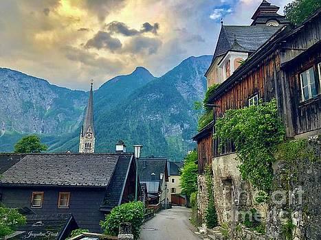 Hallstatt Village Stroll by Jacqueline Faust