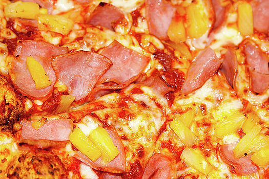 Ham and Pineapple Pizza by SR Green