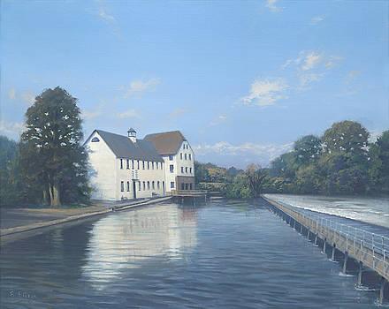 Hambleden Mill by Richard Picton