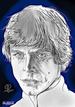 Hamill's Luke Skywalker by Joseph Burke