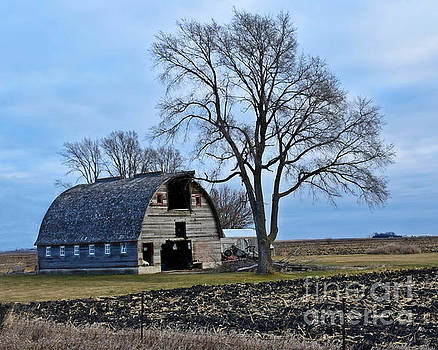 Hamilton County Barn by Kathy M Krause