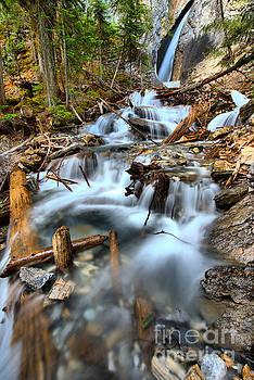 Adam Jewell - Hamilton Falls Waterfall Portrait