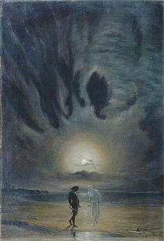 Hamlet and the Ghost by Frederick James
