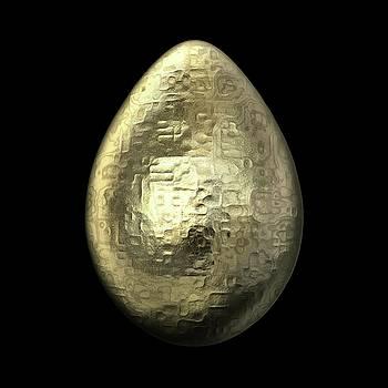 Hakon Soreide - Hammered Gold Egg