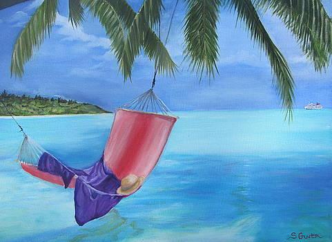 Hammock in Paradise by Sheila Gunter