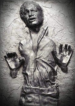 Waldek Dabrowski - Han Solo in Carbonite