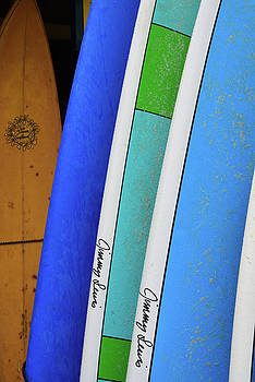 Hanalei Surfboards by Kathy Yates