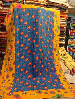 Hand Quilted Bedcovers by Santosh Rathi