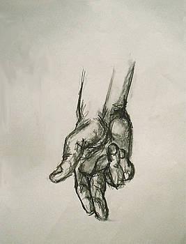 Hand by Simonne Mina
