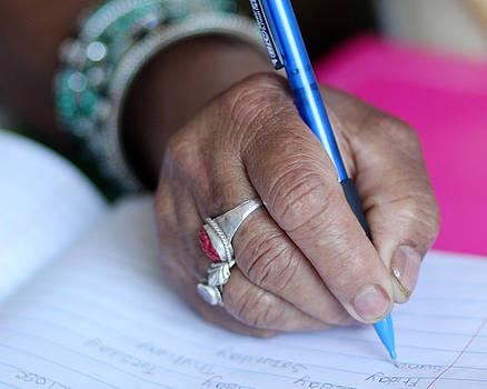 Binod - Hand Writing