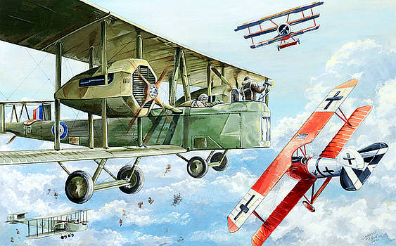 Handley Page 400 by Charles Taylor
