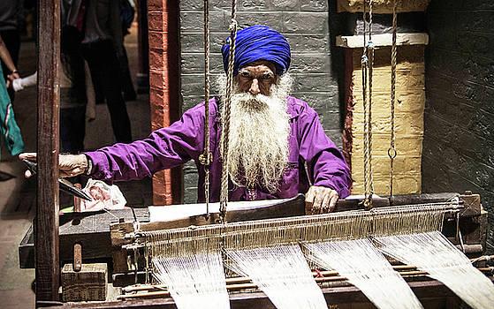 Handloom Weaver  by Surej Kalathil AKA Sunman