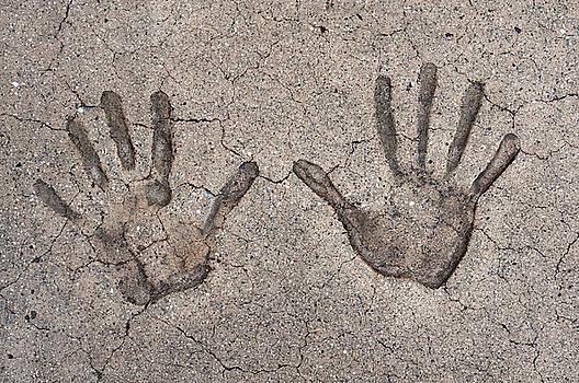 Handprints by Dan Holm