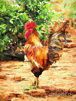 Handsome Rooster by Tina LeCour
