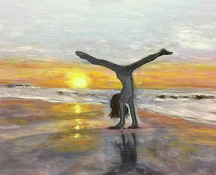 Handstand by Barbara Joyce