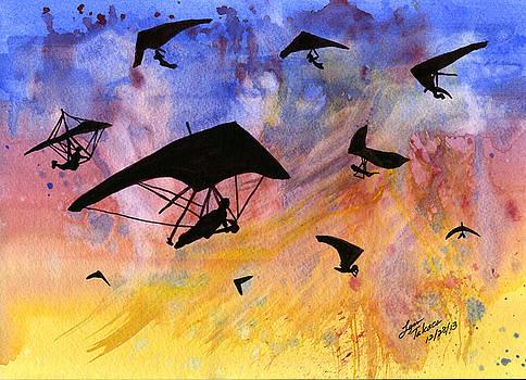 Hang Gliding by Lynn Takacs