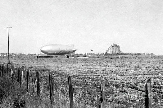 California Views Mr Pat Hathaway Archives - Hangar One at Moffett Field, California Circa 1931