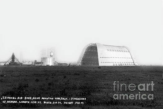 California Views Mr Pat Hathaway Archives - Hangar One at Moffett Field, California Circa 1932