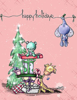 Hanging Around For the Holidays by Lizzy Love