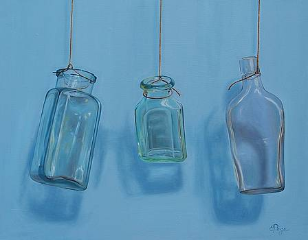 Hanging Bottles by Emily Page