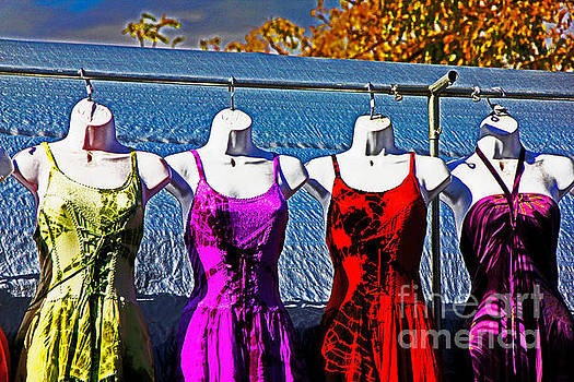 Hanging Dresses by David Frederick