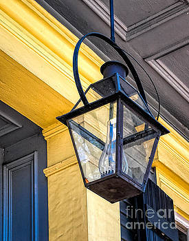 Kathleen K Parker - Hanging Lamp with Chimney - NOLA