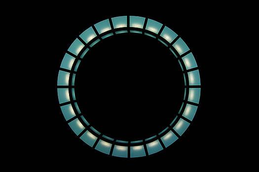 Hanging Light Circle by Brian Jones