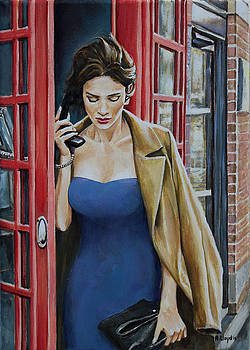 Hanging On The Telephone by Andy Lloyd