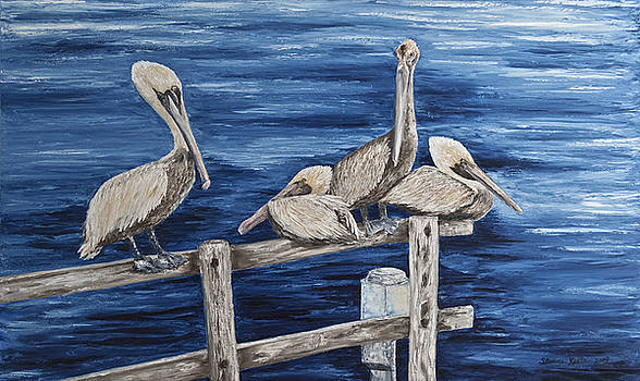 Hanging Out at the Inlet by Sloane Keats