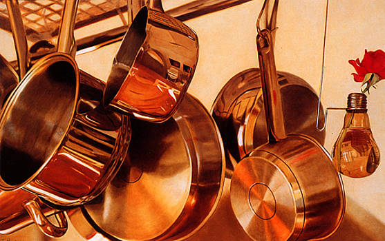 Hanging pans by Toby Boothman