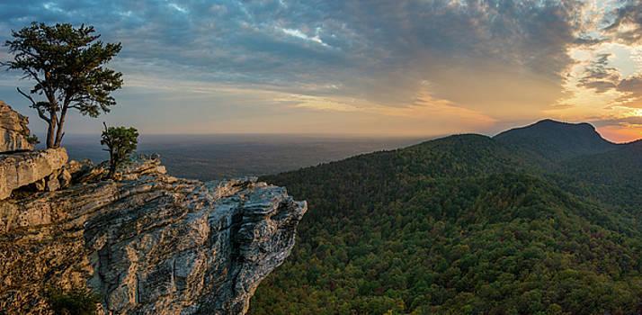 Hanging Rock Sunset Panorama by Greg Dollyhite
