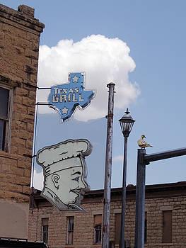 Hanging Texas Chef by Krin Van Tatenhove