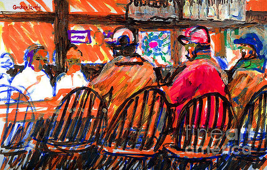 Hannibals Bar Nantucket by Candace Lovely