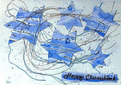 Hannukah stars by Susan Minier