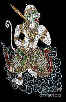 Hanuman Mythical Warrior Monkey by Ian Gledhill