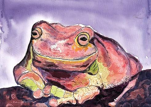 Happiness is a Frog by Myrna Migala