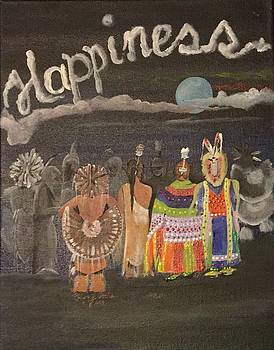 Happiness Is Pow Wow by Mickey Patrick