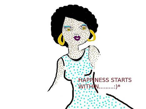 Happiness Starts Within by Keisha Stovall