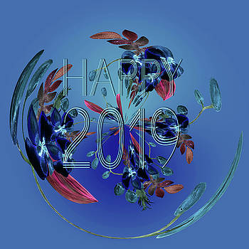 Happy 2019A by Ericamaxine Price