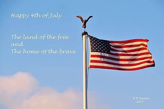 Happy 4th Of July by B Vesseur