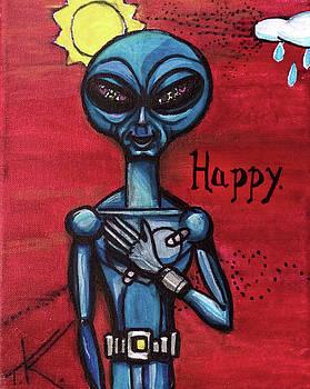 Happy alien by Similar Alien