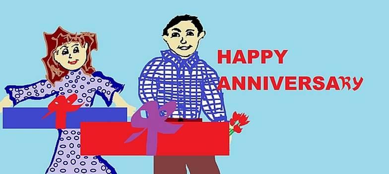 'Happy Anniversary by Linda Velasquez