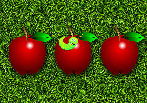 Happy Apples by Orla Cahill