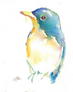 Happy bird by Cher Clemans