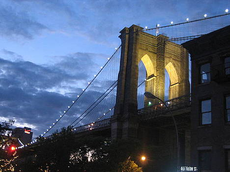 Happy Birthday Brooklyn Bridge 09 by Joanna Baker - Jenkins