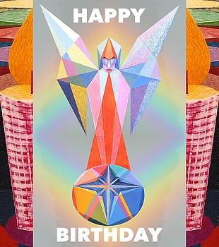 Happy Birthday - Candle 2 by Michael Bellon